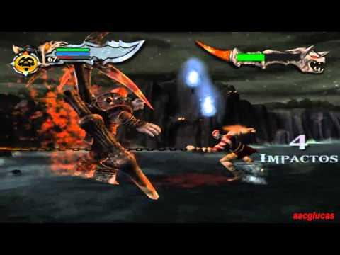 God of war 1 Dios NO UPGRADE Batalla epica - Ares vs Kratos (17/18)