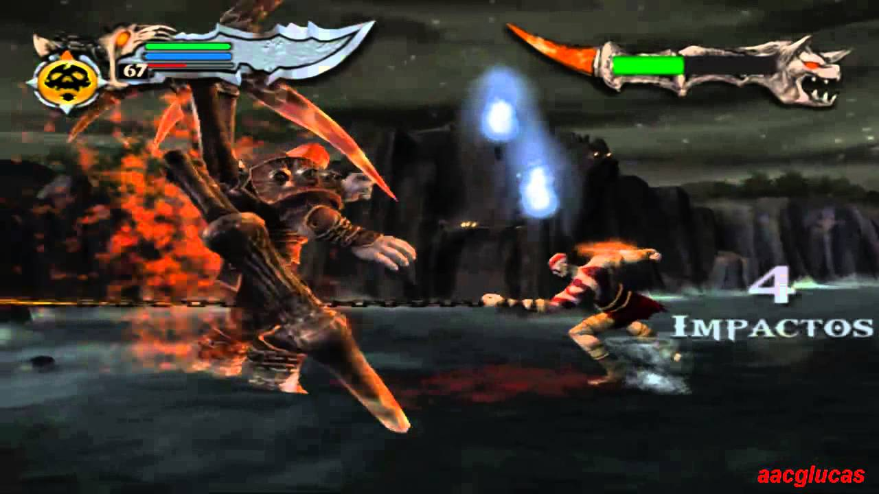 god of war 1 dios no upgrade batalla epica ares vs