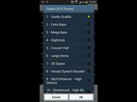 DFX Music Player Enhancer Pro Android app - Download by FreeApps4Android