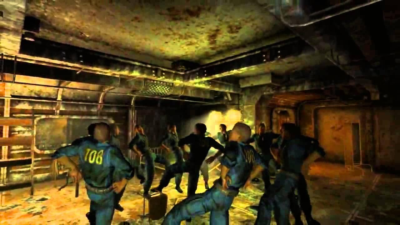 Fallout 3 Vault 108 GARY! Timelapse