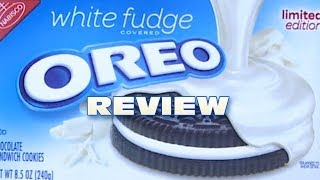 White Fudge Oreo Cookie Review - Oreo Oration