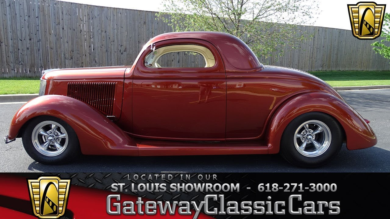 1936 Ford 3 Window Coupe Stock 7692 Gateway Classic Car St Louis Volkswagen Beetle Engine Diagram Showroom