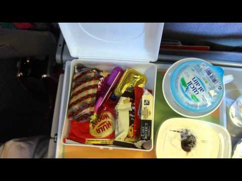 Children's meals on the plane line Emirates