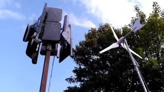 homemade vertical wind turbine vs bought turbine