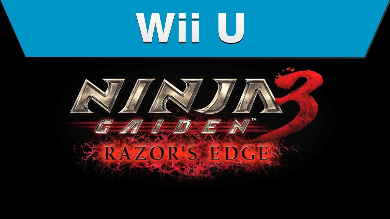 Wii U Ninja Gaiden 3 Razor S Edge Trailer Youtube