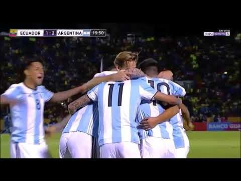 Εκουαδόρ - Αργεντινή 1-3 /Προκριματικά Μουντιάλ 2018 {10-10-2017}