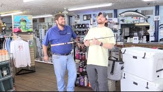 free g loomis e6x spinning rod in february sponsored by marine supply in winter haven fl