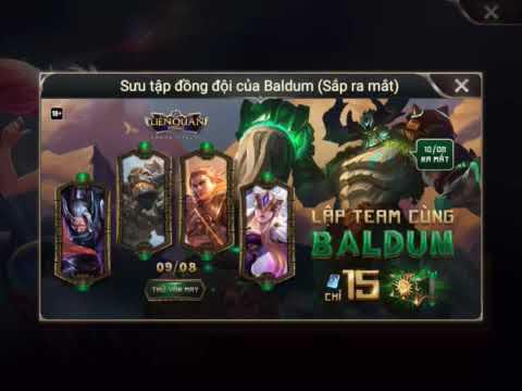 Vị Tướng Baldum và Trang Phục Chú Thợ Sữa Ống Nước Chính thức ra mắt!!!!