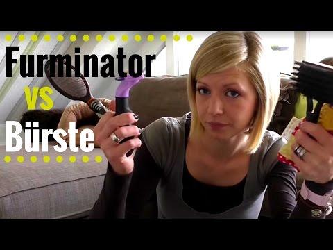 furminator b rste lang und kurzhaar f r hund und katze. Black Bedroom Furniture Sets. Home Design Ideas