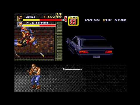 Streets Of Rage 2 PLUS ULTRA: Second Squad - Ash