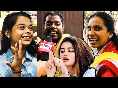 """""""Priya Varrier Avlo laam worth-u illa""""   Chennai Speaks on Priya Varrier's CRAZE   DC 173"""