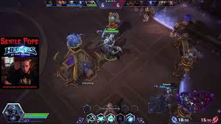 Heroes of the Storm: Quicking Matching Artanis, Leoric and Kharazim (9/5/2017)