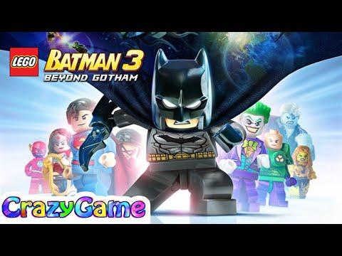 LEGO Batman 3 Beyond Gotham Full Game Movie - All Cutscenes