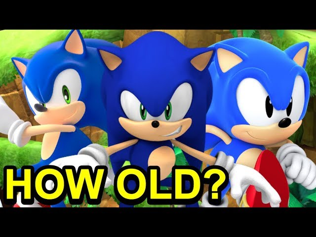 How Old Is Sonic The Hedgehog Really Sonic Theory Newsuperchris Youtube