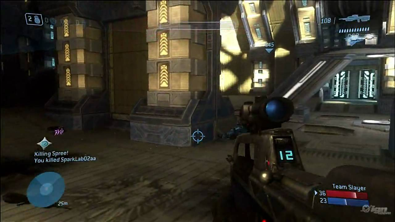 Halo 3 ODST Multiplayer Gameplay Citadel Killing Spree HD YouTube