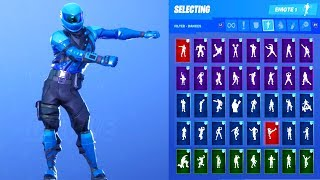 Fortnite Honor Guard Outfit Showcase with All Dances & Emotes Honor View20 Exclusive Skin