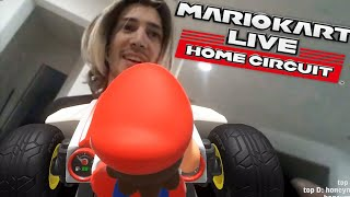 Playing Mario Kart Home Circuit and House Tour with Adept! | xQcOW