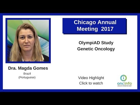 OlympiAD Study - Genetic Oncology - Dr. Magda Gomes