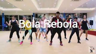 Tropkillaz J Balvin Anitta - Bola Rebola Ft. MC Zaac (Choreography) ZUMBA At Global Sport Balikpapan