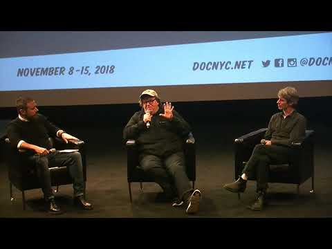 Panel after FAHRENHEIT 11/9 and A NIGHT AT THE GARDEN with Michael Moore and Marshall Curry
