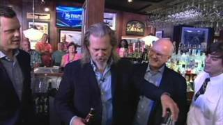 Jeff Bridges makes a white russian