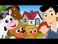 House That Jack Built   Kindergarten Nursery Rhymes   Cartoon Videos For Toddlers by Kids Tv