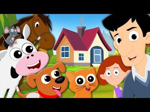 House That Jack Built | Kindergarten Nursery Rhymes | Cartoon Videos For Toddlers By Kids Tv
