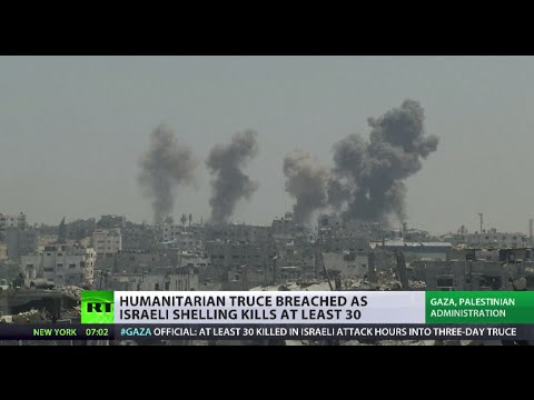 Israeli strike kills dozens during Gaza 'ceasefire'