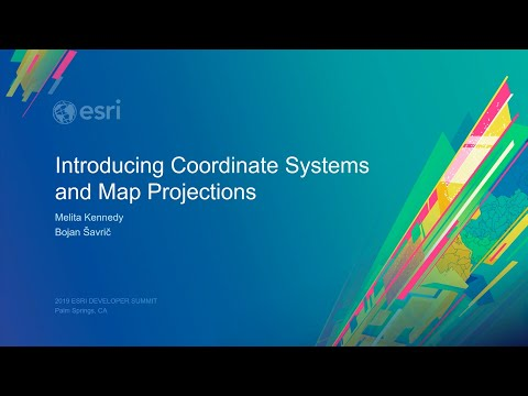 Introducing Coordinate Systems and Map Projections
