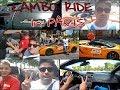 The LAMBORGHINI Ride | PARIS in LAMBORGHINI