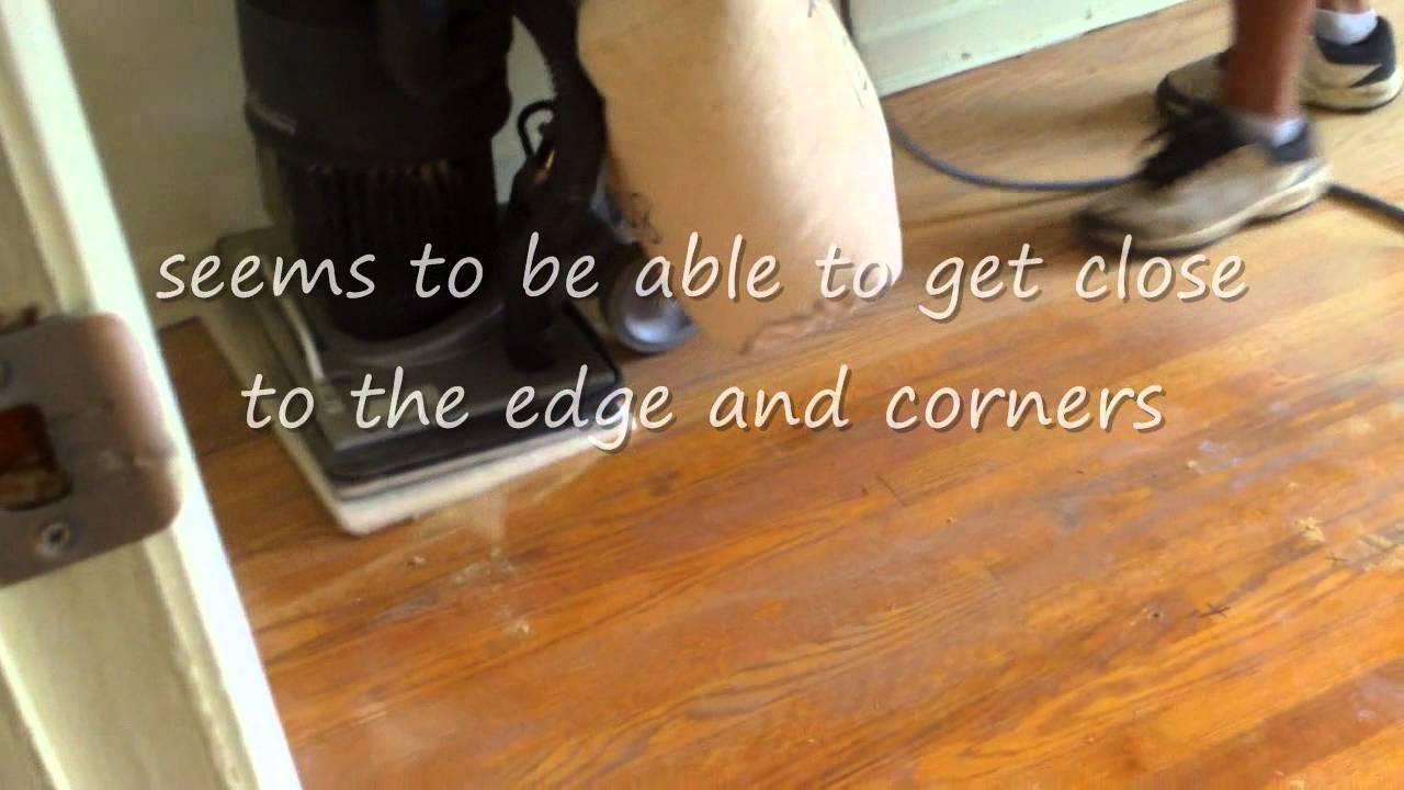 Commercial orbital floor sander  YouTube