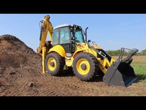 New Holland BH115C excavator