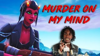 """Fortnite Montage - """"MURDER ON MY MIND"""" (YNW Melly) thumbnail"""