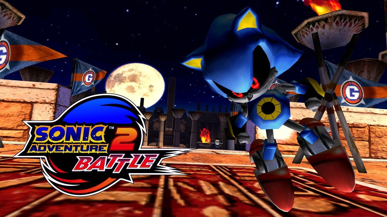 Sonic Adventure 2 Battle Sand Ocean Metal Sonic Real Full Hd