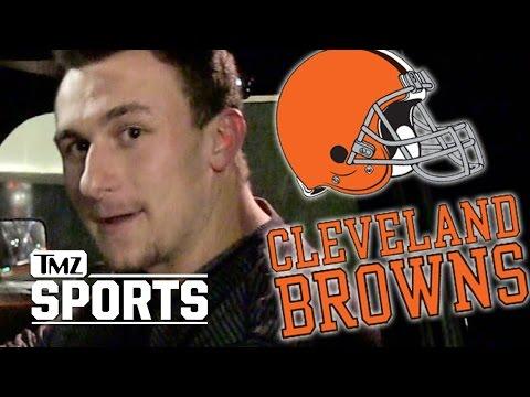 Johnny Manziel CUT From Cleveland Browns   TMZ Sports