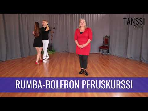 Video: Paritanssi / Rumba-boleron peruskurssi