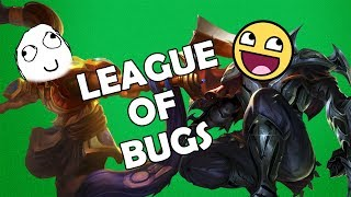 LEAGUE OF BUGS - ZED & XIN ZHAO