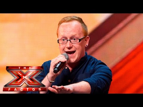 Joseph McCaul fights for his dream | Auditions Week 4 | The X Factor UK 2015