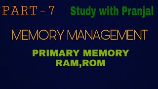 Primary Storage Devices