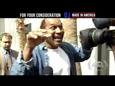 """OJ: Made In America TV30 """"Academy Review"""" Nom Best Doc TV Spot (Feature Film) GTA18"""