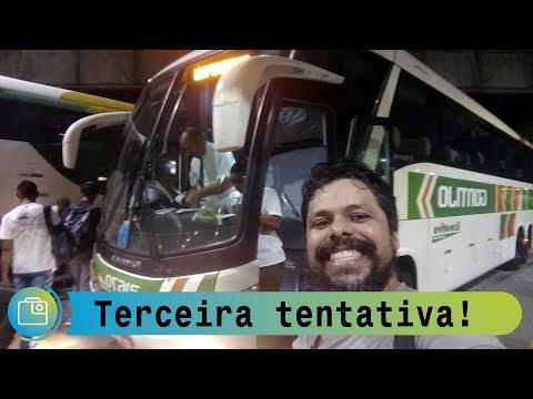 Voltamos para Belo Horizonte pela Gontijo. Então a viagem foi......