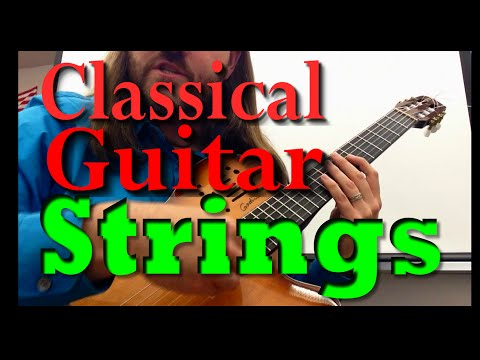 What strings should I use on my classical guitar? High tension/low tension?