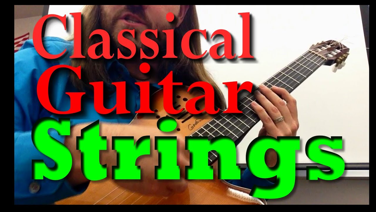 what strings should i use on my classical guitar high tension low tension youtube