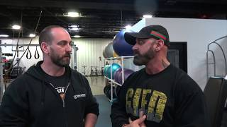 Dave Taylor - (real world strength system)  on keeping gains while injured!