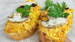 Фантастические Горячие Бутерброды На Завтрак. Дешево и Сердито !