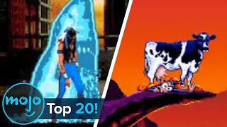 Top 20 Most Hilarious Video Game Deaths