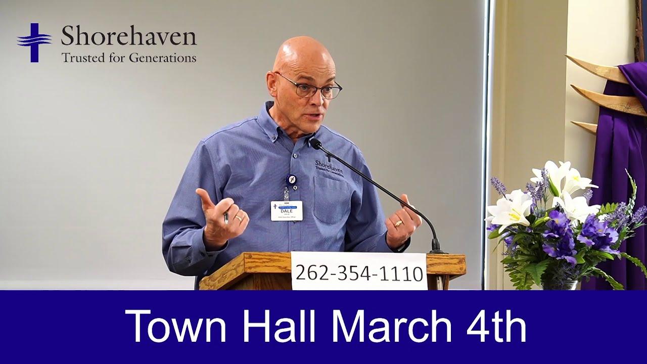 Town Hall 3-4-21