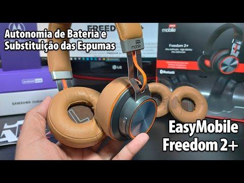 EasyMobile Freedom 2+ Autonomia de bateria e troca de espumas