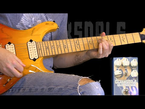 Dave Weiner (Steve Vai Band) - Clarksdale Overdrive demo