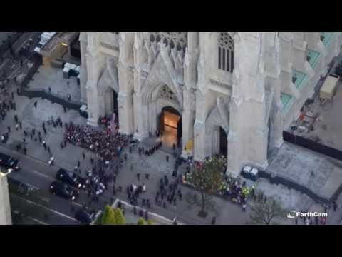 St. Patrick's Cathedral Restoration Time-Lapse